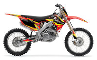 One Honda CRF250 10-12/CRF450 09-12  '13 DELTA GRAPHIC