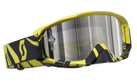 Scott Tyrant MX ajolasit glitch black/yellow silver chrome works