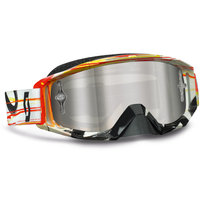 Scott Tyrant goggle paint orange silver chrome works