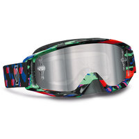 Scott Tyrant goggle Plasma black goggle sillver chrome works