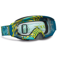 Scott Tyrant goggle vinyl green/yellow clear works