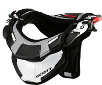 Scott 450 neck brace white/black S