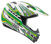 AGV MT-X Point white/green/yellow kypärä