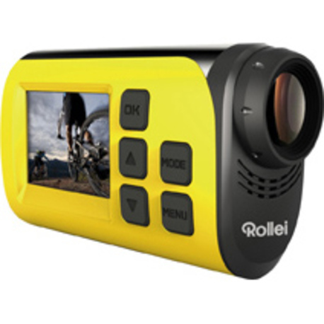 Rollei S-30 WiFi action cam yellow